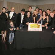 """EXTREME MAKEOVER: HOME EDITION - Cast and crew celebrate the 100th episode of the Emmy® award-winning reality series, """"Extreme Makeover: Home Edition,"""" at Social Hollywood. (ABC/RICHARD CARTWRIGHT)CAST AND CREW"""