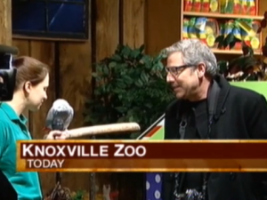 Extreme Makeover: Home Edition designer gets inspiration at Knoxville Zoo