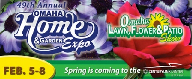 Flyer announcing the 49th Omaha Home and Garden expo