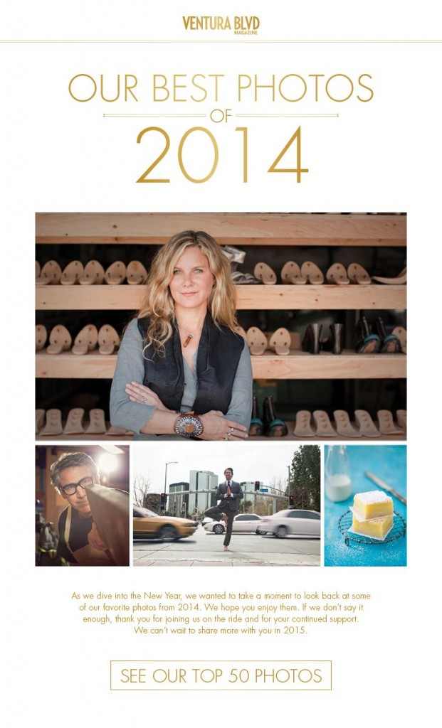 A quick view of the best photos in Ventura Blvd Magazine 2014